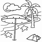 Coloring Pages Tropical Beach Island Sunset Printable Hawaiian Drawing Islands Lovely Simple Vacation Happy Holiday Clipart Colornimbus Getdrawings Under Fruit sketch template