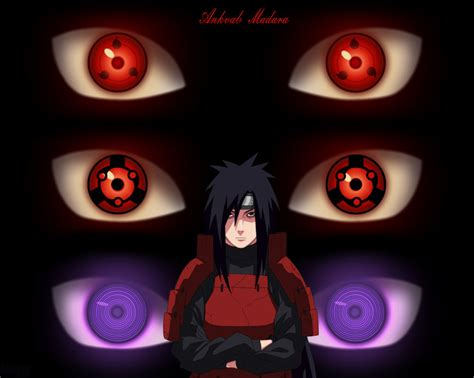 madara sharingan wallpaper wallpapersafari