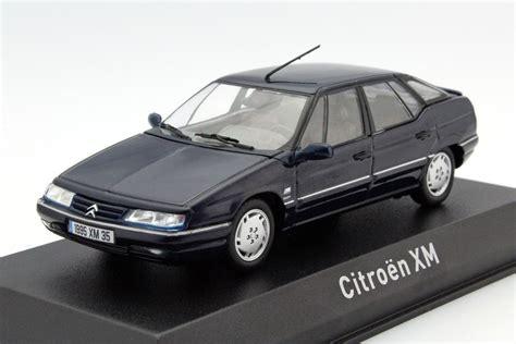 Citroen Xm by Citroen Xm 1995 Blue Die Cast Model Norev 159126