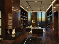 Luxurious Penthouse Dramatic Interior Luxurious Sky High Manhattan Penthouse Interior Design Inspirations