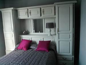 latest meuble relooker atelier ct dco with chambre pont adulte With parisot 2498litm lit charly acacia clairblanc bois