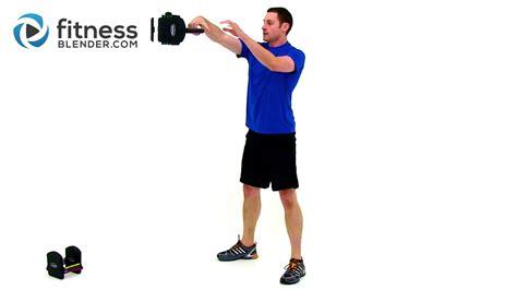cardio workout strength training kettlebell fitnessblender fitness blender blend