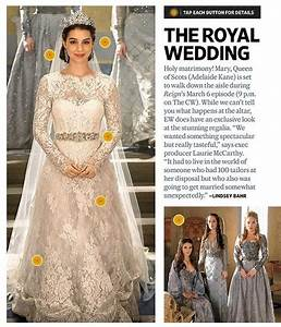 The gallery for gt mary queen of scots reign wedding dress for Reign mary wedding dress