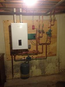 Navien Boiler Install