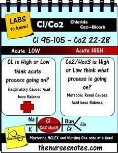 Hyponatremia Chart Chloride Co2 Bicarb Potassium Hyperkalemia Hypokalemia