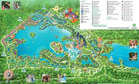 plattegrond center parcs de huttenheugte