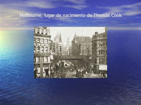 Biografía de Thomas cook