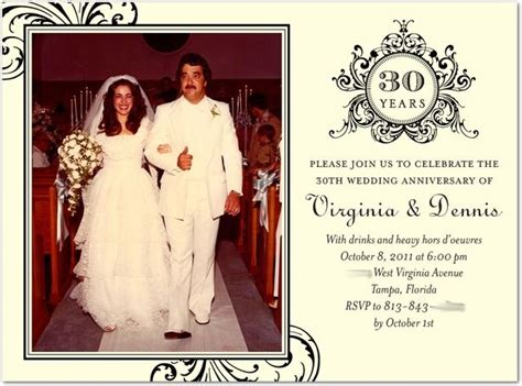 78 Best Ideas About 30th Anniversary On Pinterest