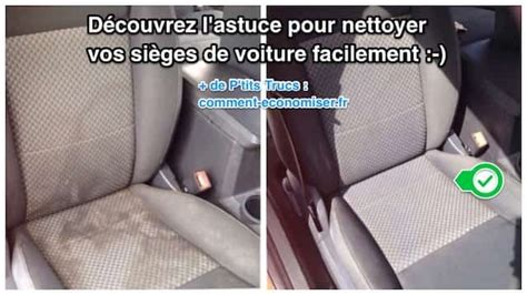 laver siege voiture comment nettoyer facilement vos sièges de voiture