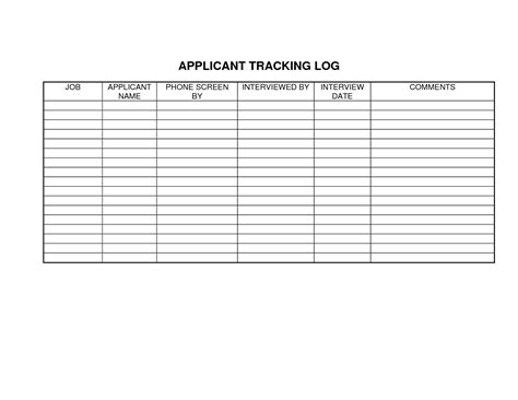 Resume Tracking Template by Best Photos Of Candidate Template Questions Template Screening