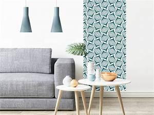 Papier Peint Bleu Canard : papier peint adh sif scandinave mod le lanternes bleu canard ~ Farleysfitness.com Idées de Décoration
