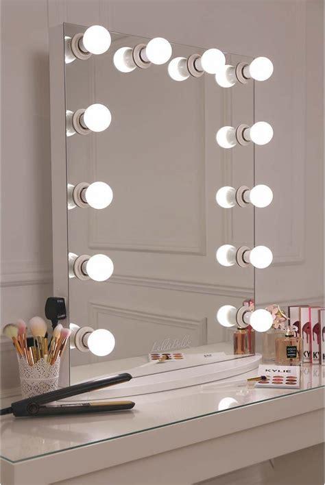 bedroom lighting options glow vanity mirror with led bulbs lullabellz