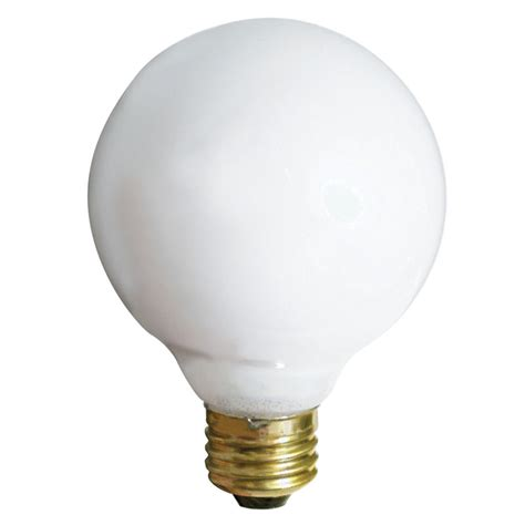 soft white g25 40w globe light bulb