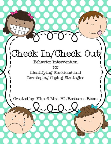 check in check out mrs h s resource room 3 000 000 teachers strong tpt sale