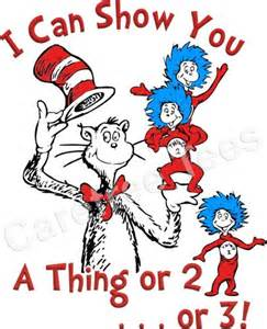 cat in the hat thing 1 and thing 2 thing 1 and thing 2 book quotes quotesgram