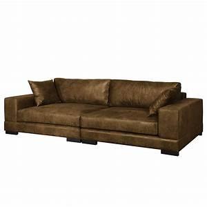 Big Sofa Microfaser : big sofa cognac bestseller shop f r m bel und einrichtungen ~ Indierocktalk.com Haus und Dekorationen