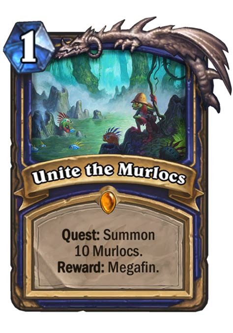 Hearthstone Shaman Murloc Deck 2017 by Unite The Murlocs Hearthstone Card