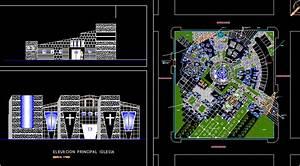 Church  U2013 Project Dwg Full Project For Autocad  U2013 Designs Cad