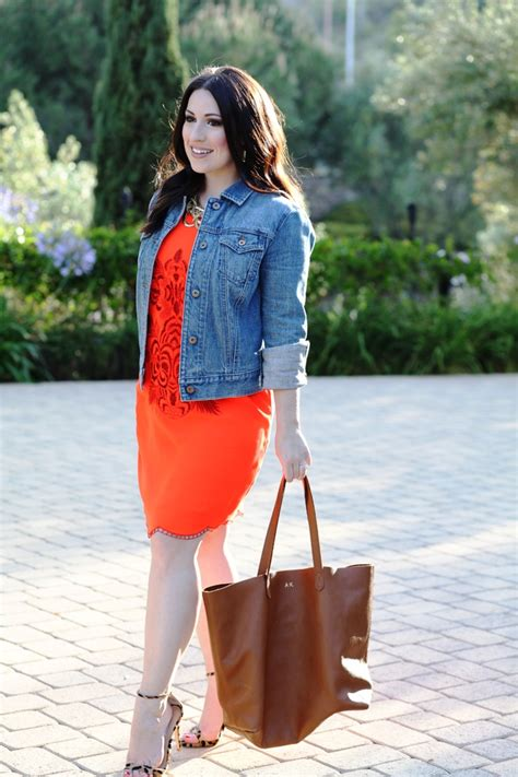 orange outfit ideas  women  wear