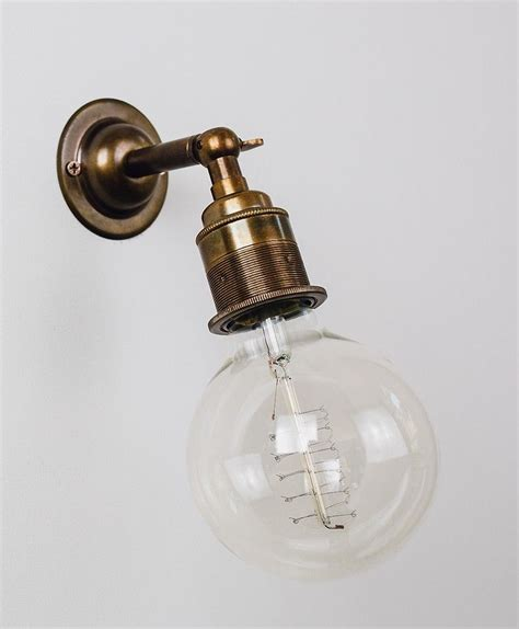 ned industrial style wall light from olive and the fox