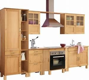 Küchen Otto Versand : home affaire k chenblock alby breite 325 cm aus massiver ~ Watch28wear.com Haus und Dekorationen