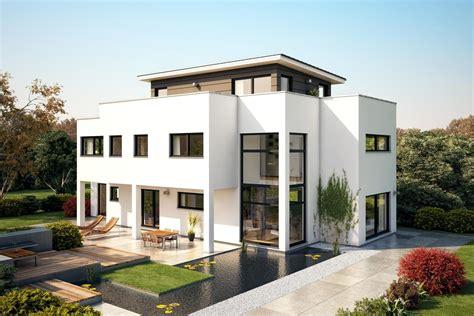 Moderne Häuser Und Gärten by Fertighaus Villa Flaviano Mit Penthouse Architektenhaus