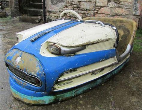 Very Sad Looking Dodgem Car Shell