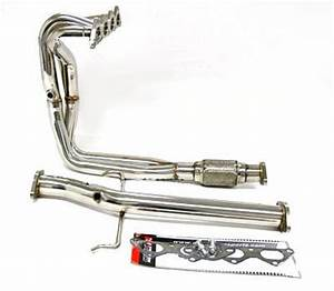 Obx Exhaust Header For 00 01 02 03 04 05 Mitsubishi