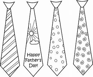 Best Photos of Father's Day Tie Card Template - Father's ...