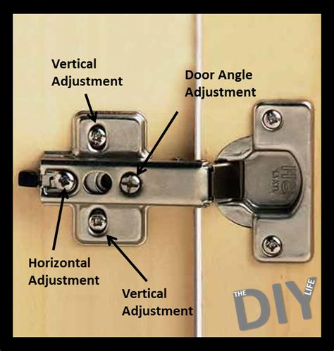 adjusting cabinet hinges  diy life