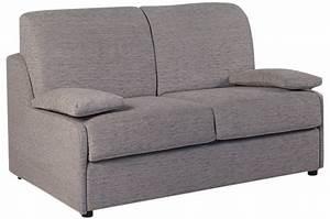 Canape bayeux canape lit quotidien tissu pas cher for Petit canapé lit 2 places