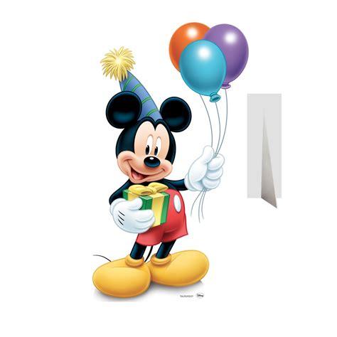 coloriage mickey anniversaire  imprimer