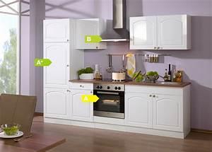 Küchen Bei Ebay : held m bel k chenzeile rom 270 cm hochglanz wei k che k chen k chenblock ebay ~ Watch28wear.com Haus und Dekorationen