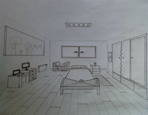 chambre en perspective dessin chambre dessin perspective gascity for