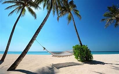 Tropical Summer Beach Wallpapers Desktop Computer Landscape