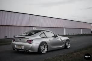 Silver BMW Z4 M Coupe