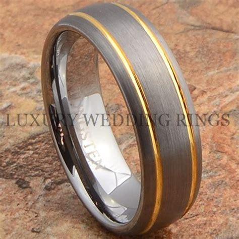 Ee  Mens Ee   Tungsten Ring K Gold  Ee  Wedding Ee    Ee  Band Ee   Mmanium