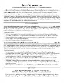 market research resume exles market research analyst resume objective