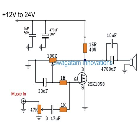 The Post Explains Simple Single Mosfet Class Power