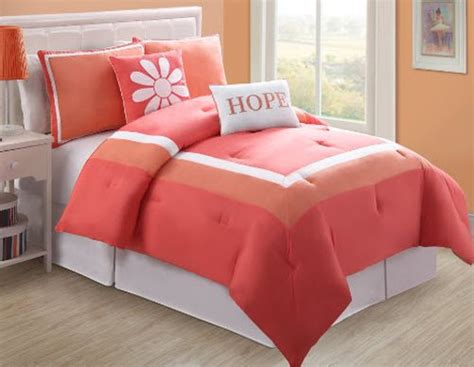 Coral Colored Bedding by Coral Color Bedding Choozone