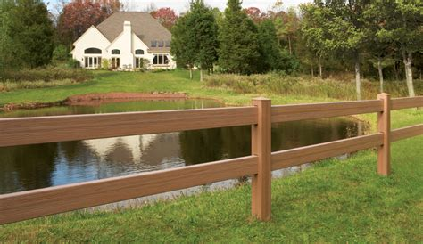 Post & Rail Maintenance Free Vinyl Horse Fencing-discount