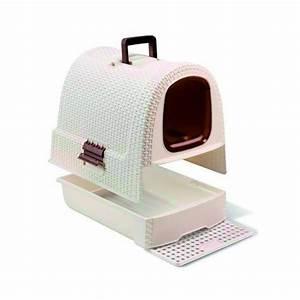 Toilette Chimique Pour Maison : maison de toilette chat curver pour chat sur monigloo ~ Premium-room.com Idées de Décoration