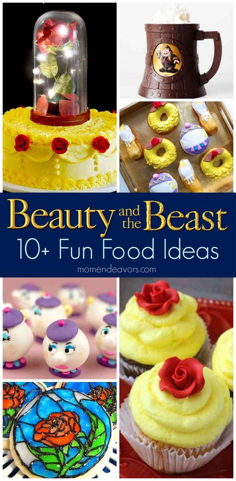 beauty  beast fun food recipes