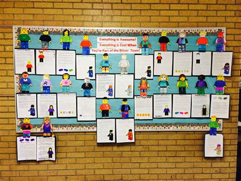 Leader In Me Bulletin Board Idea. Lego Movie-