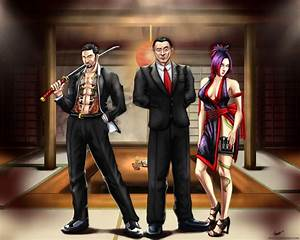 Yakuza Teahouse-Commission by Thrakks on DeviantArt