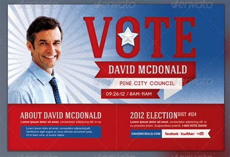 Election Brochure Template by 8 Election Brochure Templates Free Psd Design Exles