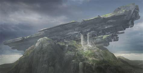 ancient crash site  franklinchan  deviantart