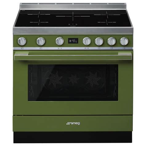 cucina elettrica a induzione cucina elettrica induzione smeg cpf9ipog 90 cm verde oliva