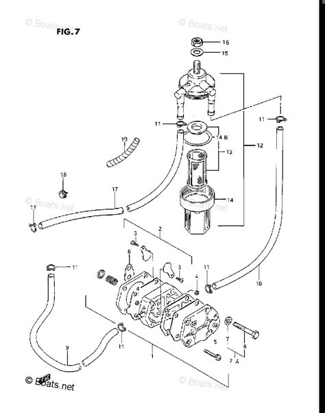 Suzuki Outboard Motors Parts by Suzuki Outboard Parts By Model Dt 25 Oem Parts Diagram For