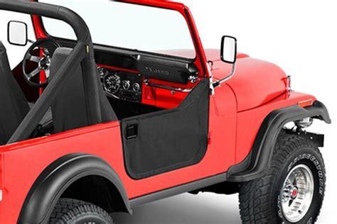 jeep half doors bestop jeep soft lower half doors 4wheelonline